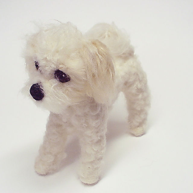Baily, Needle Felted Dog Portrait. Commissions at www.ameliamakesart.etsy.com