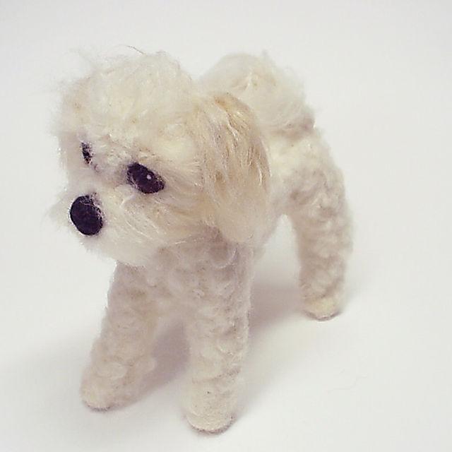 Baily, Needle Felted Dog Portrait. Commissions at www.ameliamakesart.etsy.com